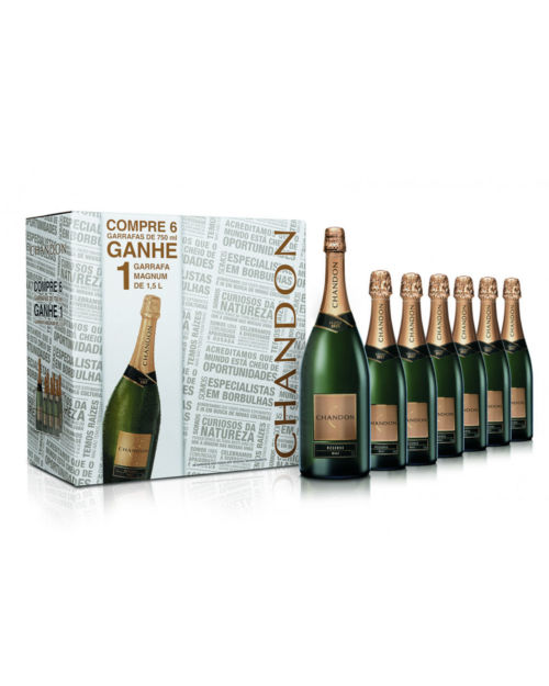 CHANDON RESERVE BRUT PACK 6+1
